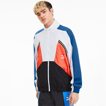 Tailored for Sport Woven Men's Jacket, Palace Blue, small
