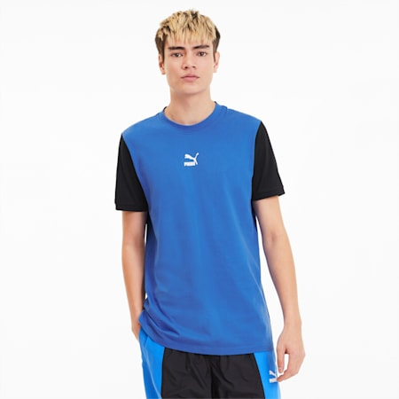 Camiseta Tailored for Sport para hombre, Palace Blue, pequeño