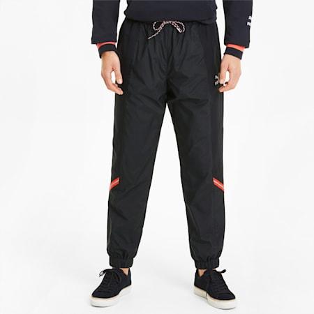 Pantalones de chándal para hombre PUMA Tailored for Sport Woven, Puma Black, small