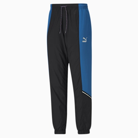 PUMA Tailored for Sport Men's Woven Sweatpants, Palace Blue, small-SEA