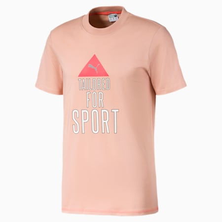 T-shirt da uomo Tailored for Sport Industrial, Pink Sand, small