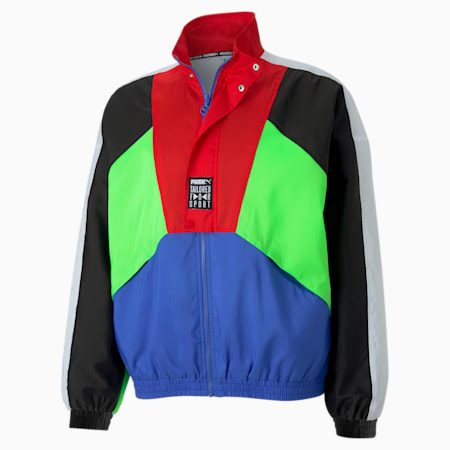 Tailored for Sport OG Men's Track Jacket, Dazzling Blue, small-SEA