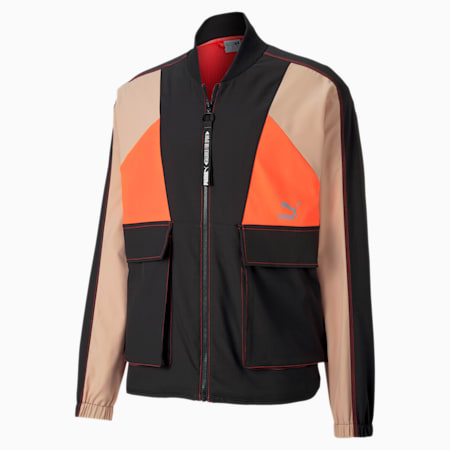 Tailored for Sport Industrial Men's Track Jacket, Puma Black, small