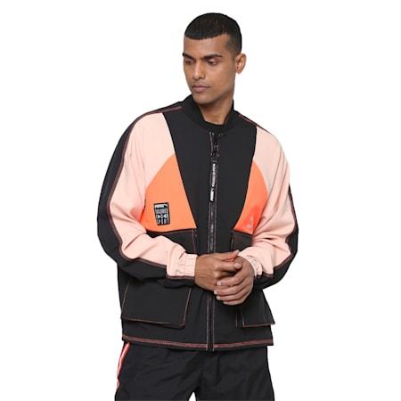 TFS Industrial Track Jacket, Puma Black, small-IND