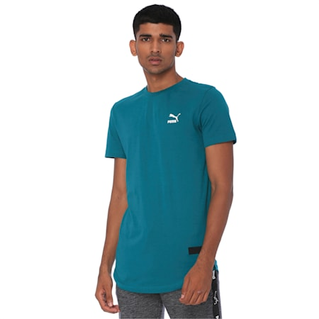 one8 Men's Graphic Tee, Teal Green, small-IND