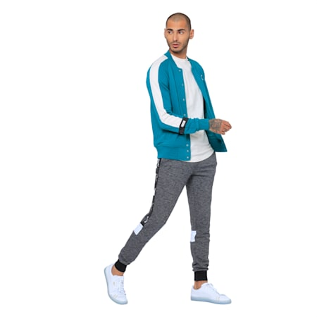 Virat Kohli Sweat Jacket, Teal Green, small-IND