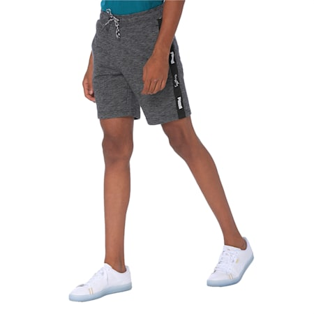 one8 Men's Knitted Shorts, Puma Black, small-IND