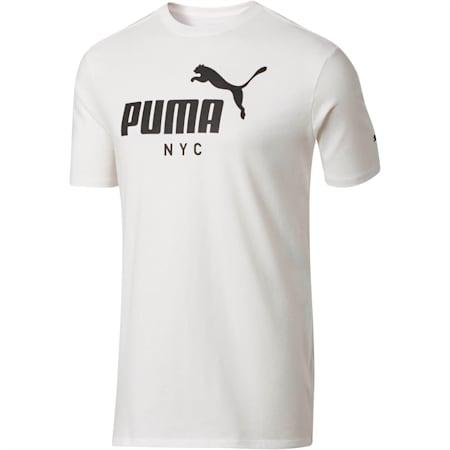 NYC PUMA Logo Men's Tee, Puma White, small