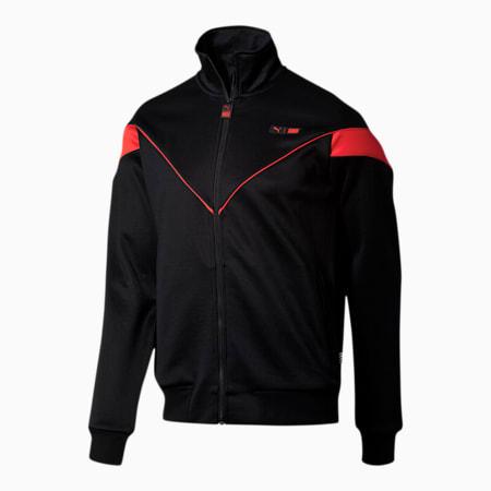 PUMA x TMC Forever Track Jacket, Puma Black-High Risk Red, small