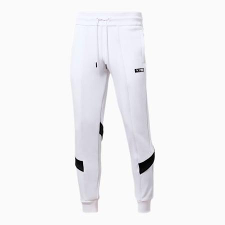 PUMA x TMC Forever Track Pants, Puma White-Puma Black, small