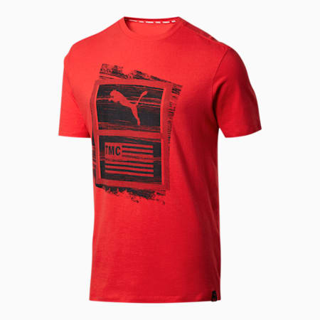 PUMA x TMC Hussle Men's Tee, High Risk Red, small