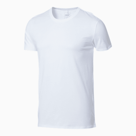Camiseta PUMA x TMC Run a Lap para hombre, Puma White, pequeño