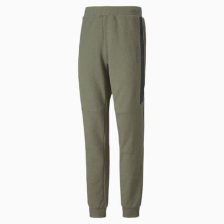Porsche Design Men's Sweatpants, Deep Lichen Green Heather, small