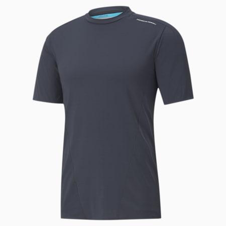 ポルシェ デザイン M PD アクティブ Tシャツ 半袖, Navy Blazer, small-JPN