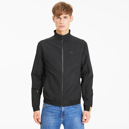 Porsche Legacy Men's Bomber Jacket, Puma Black, small