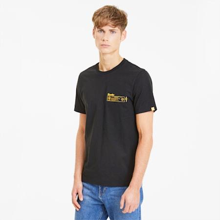 ポルシェ レガシー グラフィック Tシャツ 半袖, Puma Black, small-JPN