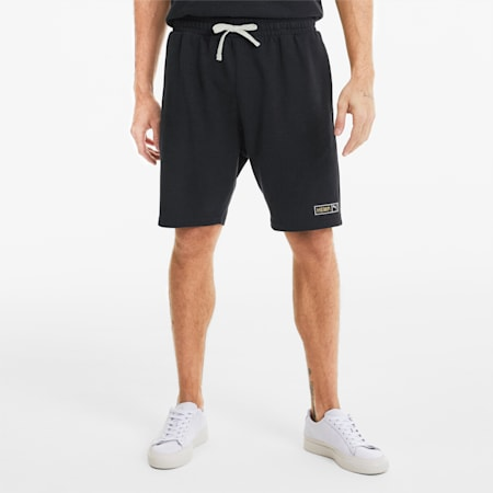 Hemp Men's Shorts, Puma Black, small