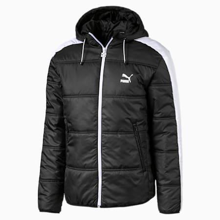 Classics T7 Men's Padded Jacket, Puma Black, small