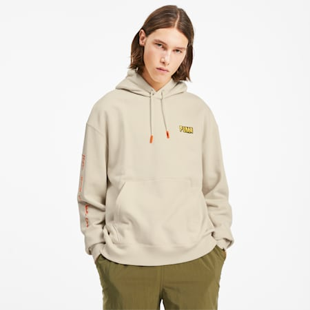 PUMA x RANDOMEVENT Hoodie, White Asparagus, small-SEA