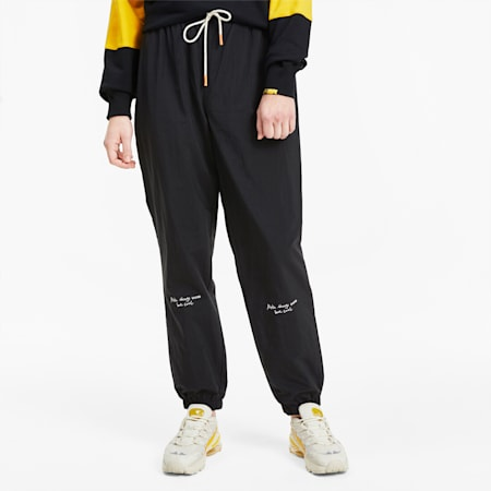 PUMA x RANDOMEVENT Men's Woven Pants, Puma Black, small