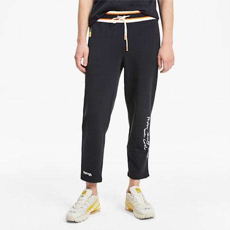 PUMA x RANDOMEVENT Men's Sweatpants, Puma Black, small-SEA