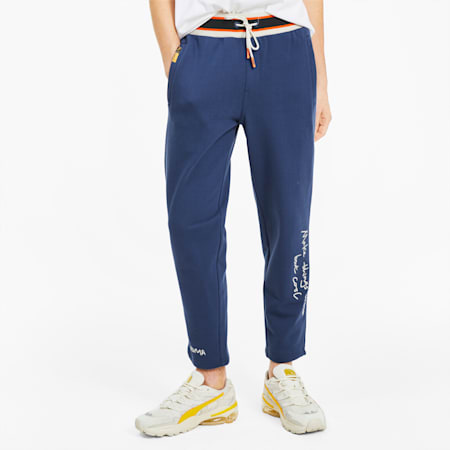 PUMA x RANDOMEVENT Men's Sweatpants, TWILIGHT BLUE, small
