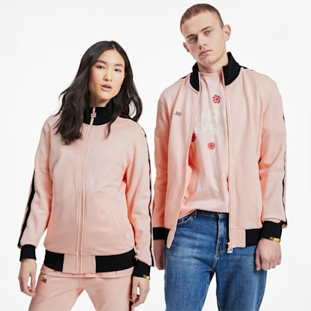 PUMA x RANDOMEVENT Track Jacket, Gossamer Pink, small
