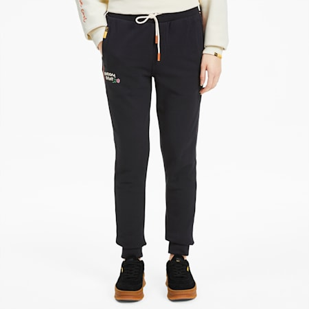 PUMA x RANDOMEVENT Women's Track Pants, Puma Black, small