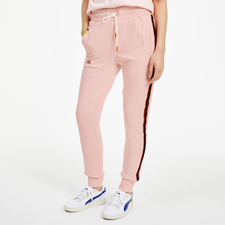 PUMA x RANDOMEVENT Women's Track Pants, Gossamer Pink, small-SEA