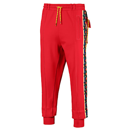 PUMA x JAHNKOY Men's Pants, High Risk Red, small