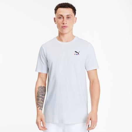 Classics Embroidered Men's Tee, Puma White, small-SEA