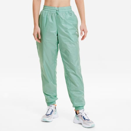 Evide Women's Track Pants, Mist Green, small-SEA