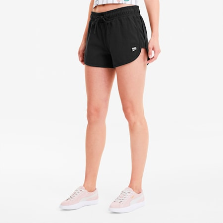 Downtown Damen Shorts, Puma Black, small