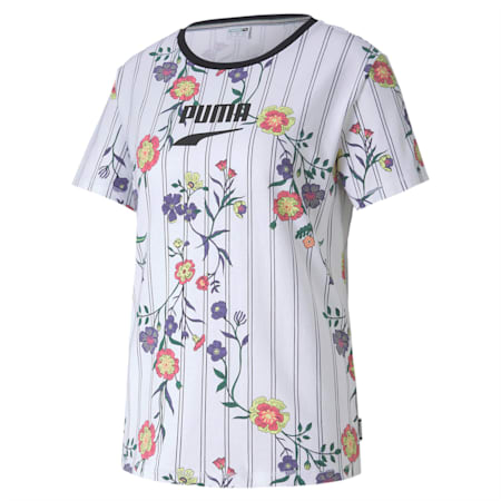 Downtown AOP T-Shirt, Puma White, small-IND