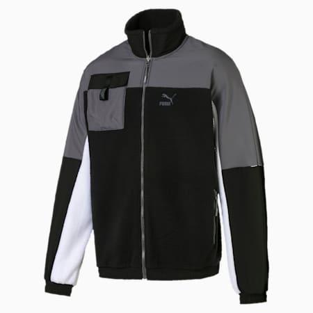 XTG Trail Woven Full Zip Men's Jacket, Puma Black, small-SEA
