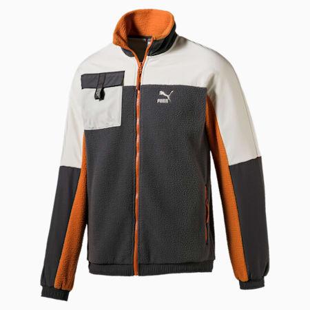 XTG Trail Woven Full Zip Men's Jacket, CASTLEROCK, small-SEA