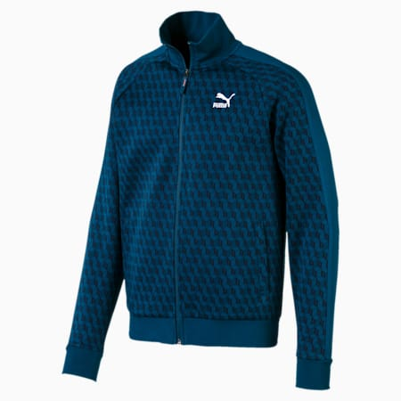 Luxe Track Jacket AOP, Gibraltar Sea-AOP, small-IND