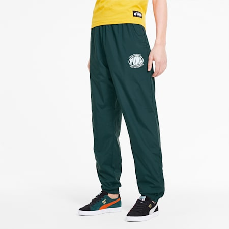 PUMA x THE HUNDREDS Track Pants, Ponderosa Pine, small