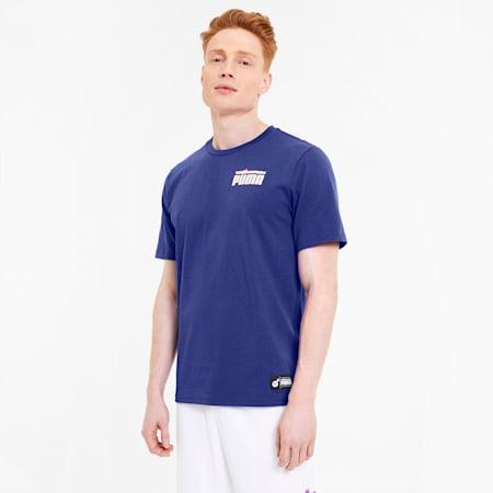 PUMA x THE HUNDREDS Herren T-Shirt, Royal Blue, small
