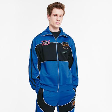 PUMA x RHUDE Men's Track Jacket, Palace Blue, small