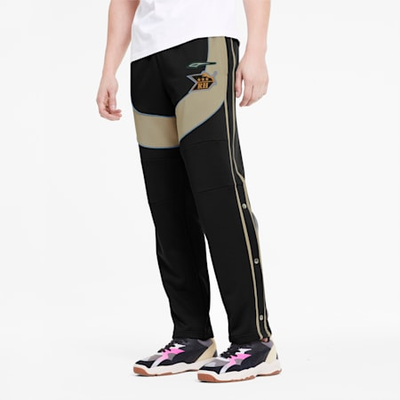 PUMA x RHUDE Men's Track Pants, Puma Black, small-SEA
