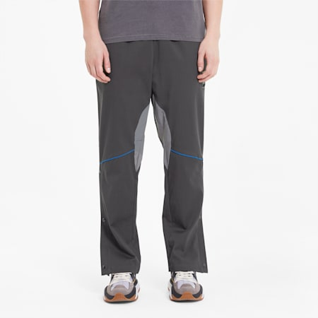 PUMA x RHUDE Men's Woven Pants, Dark Shadow, small