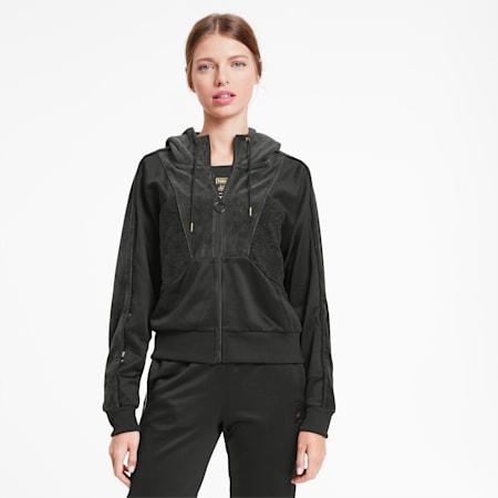 PUMA x CHARLOTTE OLYMPIA Tailored for Sport Damen Trainingsjacke, Puma Black, small