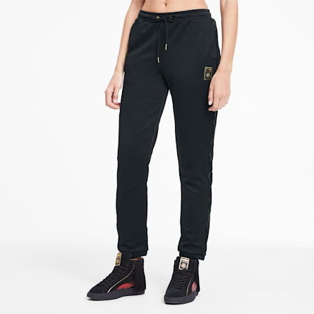 PUMA x CHARLOTTE OLYMPIA Tailored for Sport Damen Trainingshose, Puma Black, small