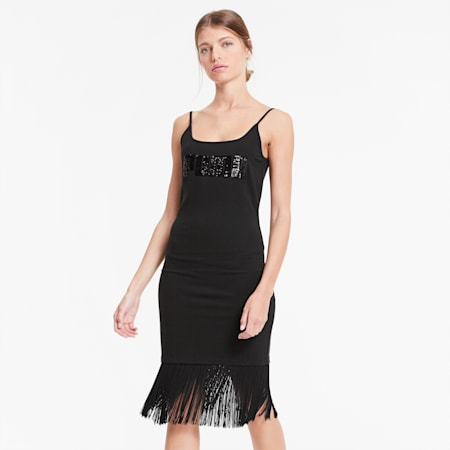 PUMA x CHARLOTTE OLYMPIA Classics Damen Kleid, Puma Black, small