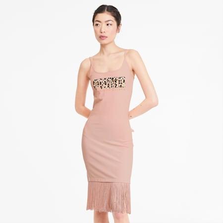 PUMA x CHARLOTTE OLYMPIA Classics Damen Kleid, Silver Pink, small