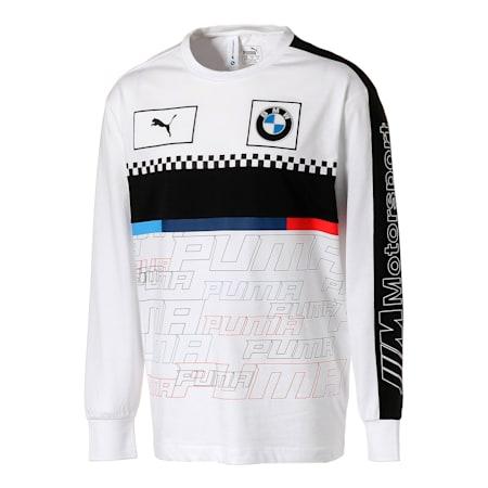 BMW MMS FTLロングスリーブ, Puma White, small-JPN