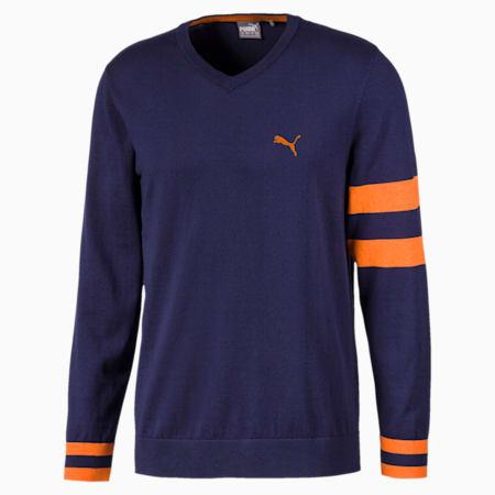 Suéter X para hombre, Peacoat, pequeño