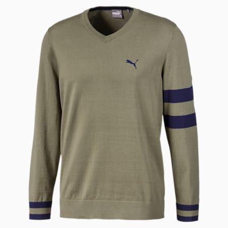 Suéter X para hombre, Deep Lichen Green, pequeño