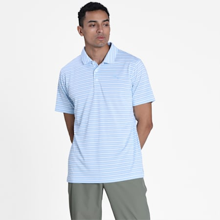 Links Men's Golf Polo Shirt, Blue Bell, small-IND